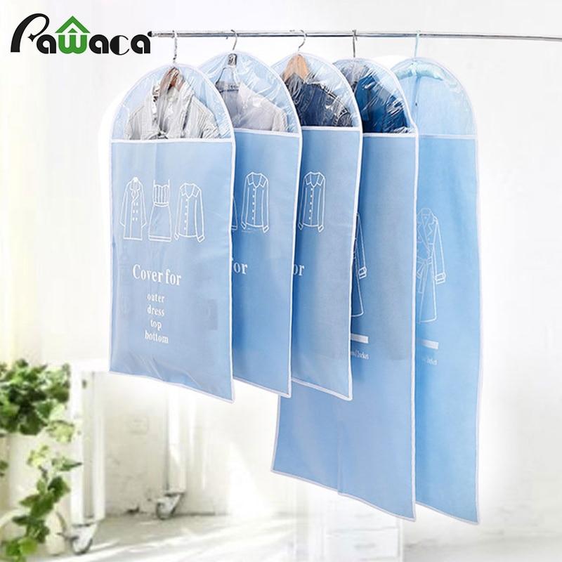 Подвесная сумка для одежды, защита от пыли, 5 шт./компл.