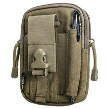 Sector Seven D30 Tactical Compact Waist Packs MOLLE Compatible EDC Pouch Men Casual Waist Bag