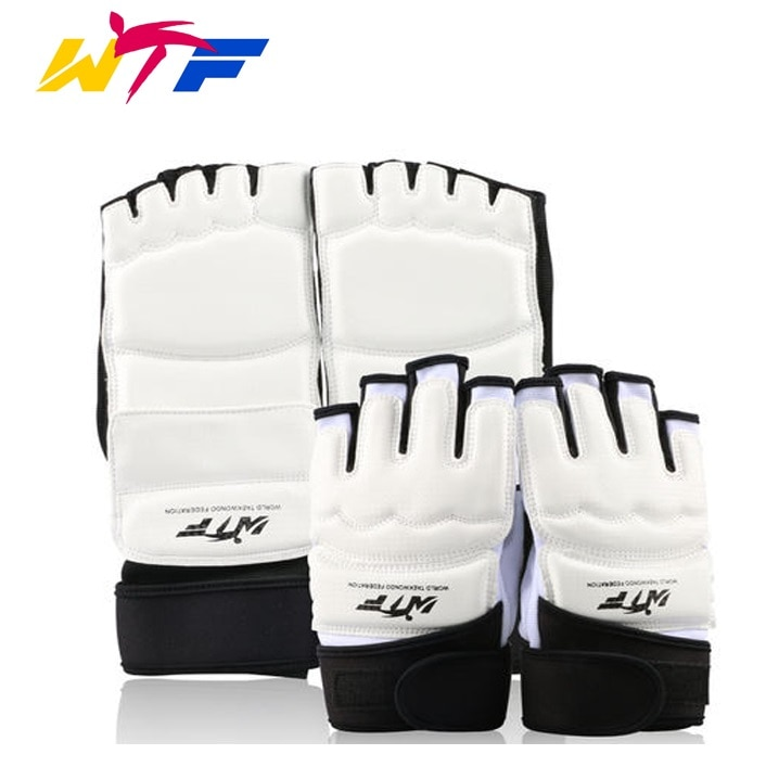 High quality WTF approve hand protector foot protectors Child man woman karate MMA kick boxing muay thai Taekwondo hands guards