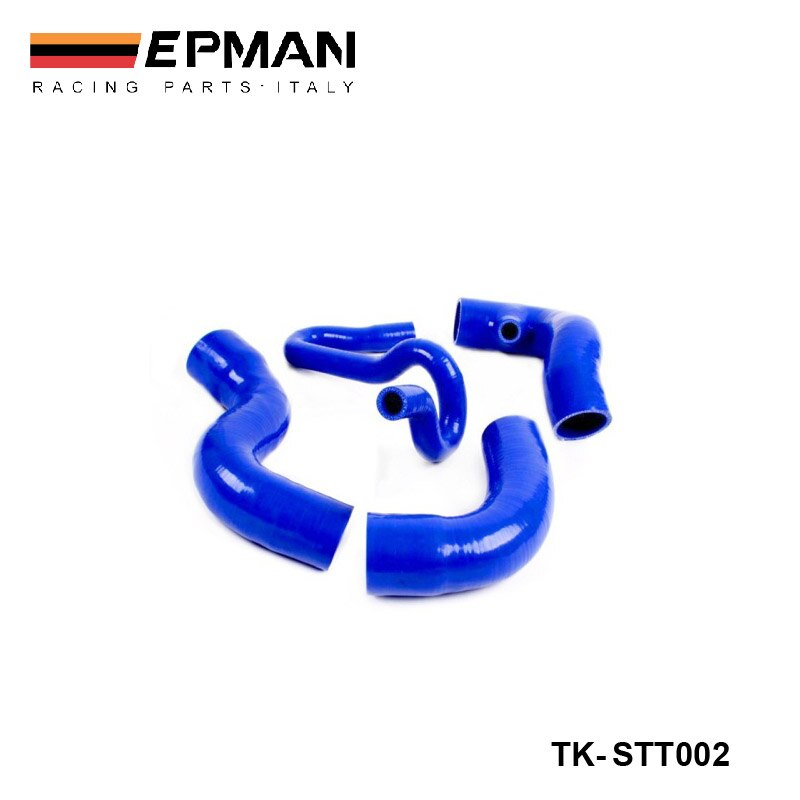 De silicona Intercooler Turbo manguera de impulso Kit para Seat León Cupra R 1,8 T (4 uds) EP-STT002