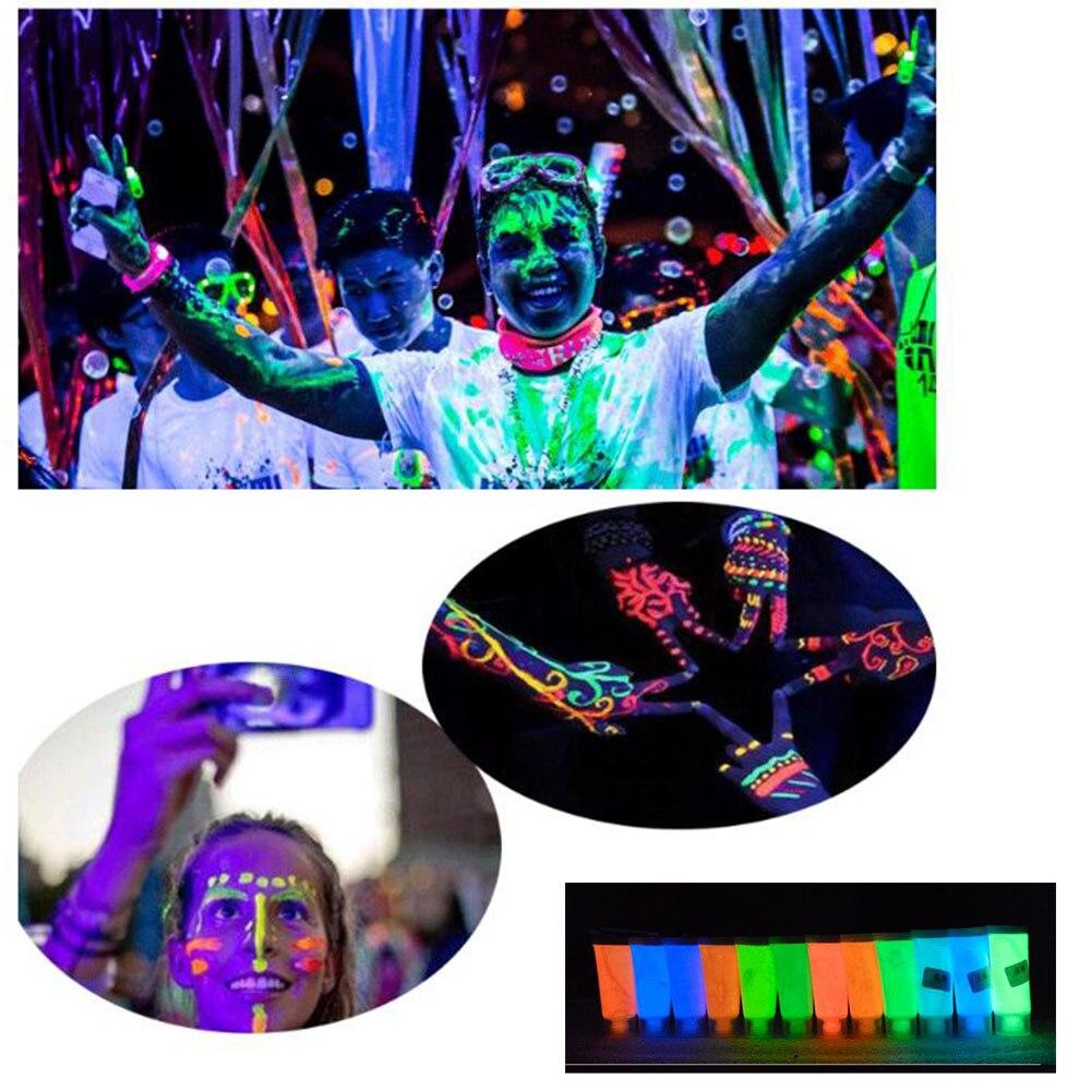 Pixco-accessoires de photographie 3 pièces   Bricolage, peinture corporelle, pigment lumineux, peinture lumineuse, sécurité et protection de lenvironnement