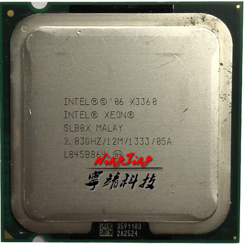 Intel Xeon X3360 2,8 GHz Quad-Core CPU procesador de 12M 95W LGA 775