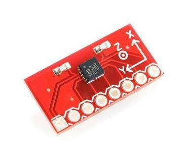 ¡Envío Gratis! 1pc BMA180 triaxial Módulo sensor acelerómetro