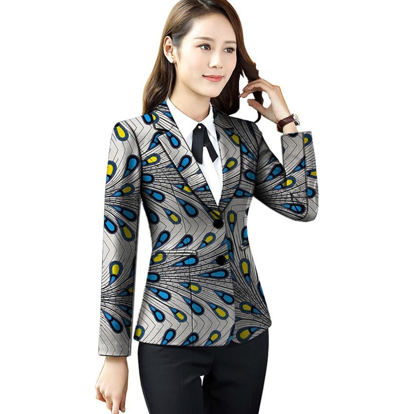 African print women suit jackets fashion Ankara outfit business style blazers wedding wear dashiki Ankara blazer