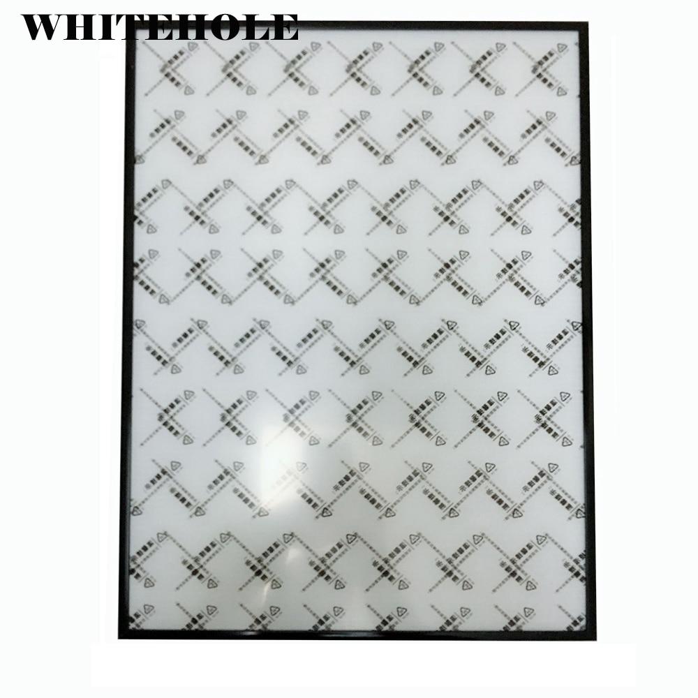 إطار صورة معدني مفكك ، 40x60 40x50 50x60 سنتيمتر ، ملصق بسيط أسود وفضي ، بدون زجاج ، بدون دعم