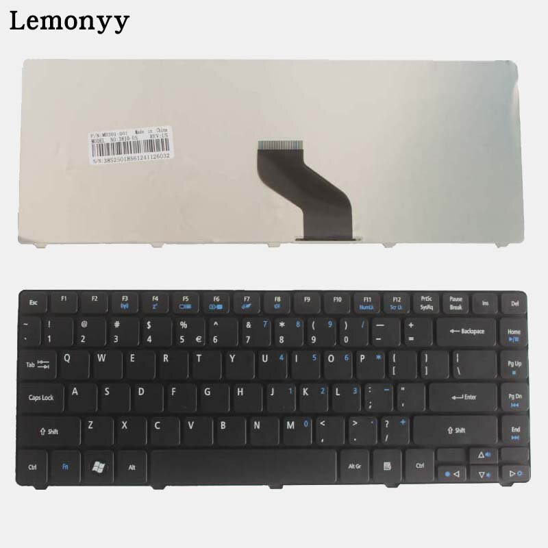 NOVO para Acer Aspire EMachines D440 D442 D640 D640G D528 D728 D730 D730G D730Z D732 D732G D732 D732Z D443 EUA Teclado Do Laptop