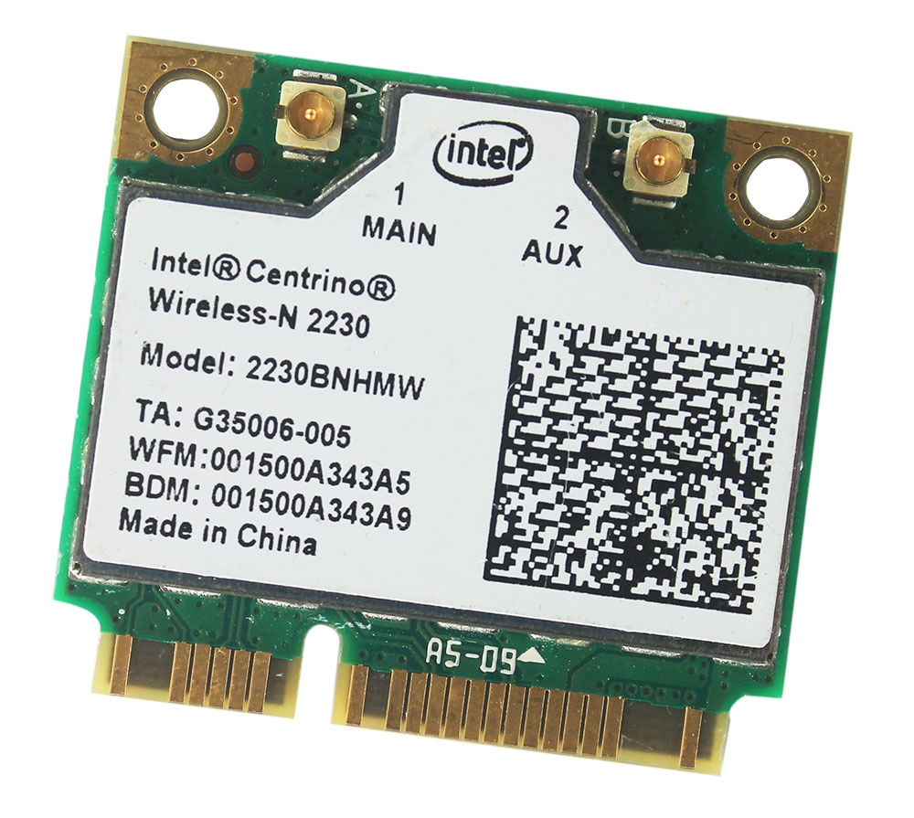 Intel Centrino Wireless-N 2230 Bluetooth 4.0  WIFI 300Mbps  2230BNHMW Half mini PCIe adapter