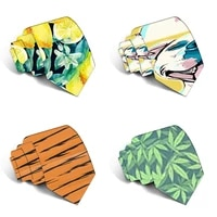 original design funny neckties men cartoon novelty ties anime printed neck ties wedding gift party accessories 5ld32