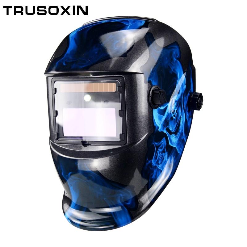 LED Light Solar LI battery Auto Darkening TIG MIG MMA MAG KR KC Electric Welding Mask/Helmets/Welder Cap for Welding Machine