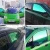 Film teint en verre vert pour fenêtre de voiture 15% VLT rouleau de peinture ombre solaire en verre 0.5m x 3m