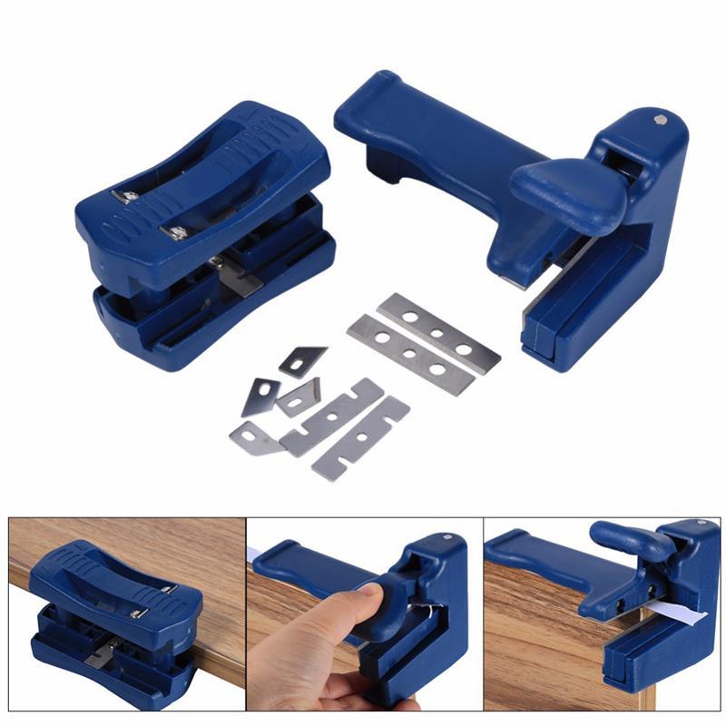 Aparador de borda, mini cortador de bordas de plástico pvc, madeira de melamina, cortador de borda, ferramenta manual de marcenaria