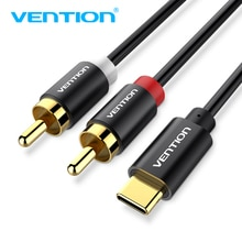 USB C RCA Audio Cable Type-C to 2 RCA Cable 2rca Jack Type C RCA Cable for iPhone Sumsung Xiaomi Spe