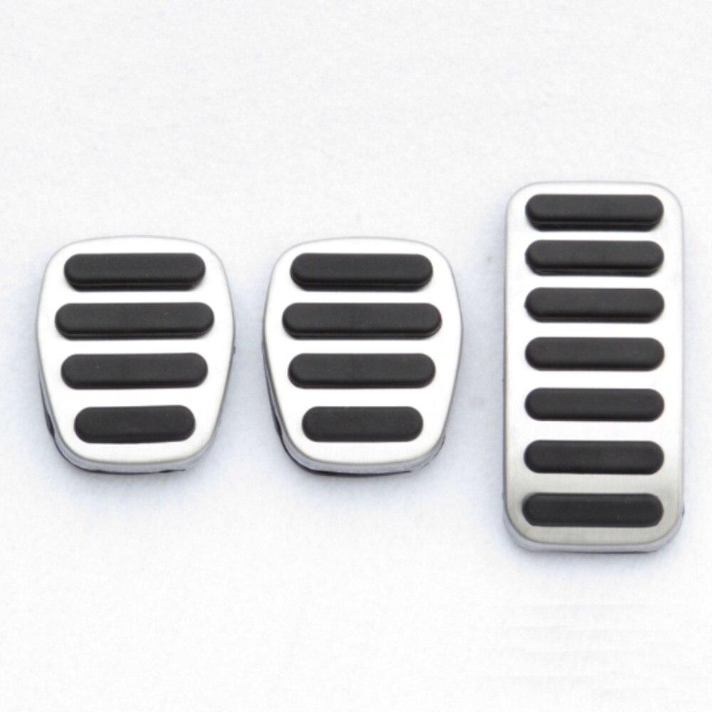 Pedal de freno del acelerador de acero inoxidable, accesorios para automóvil para Volvo V40 XC40 S40 2013 2014 2015 2016 2017 2018 2019
