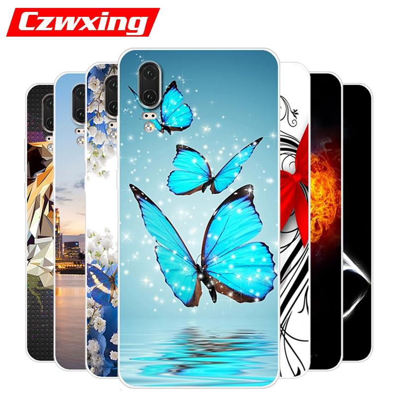 For Huawei P20 Case Huawei P20 Case Silicone TPU Back Cover Phone Case For Huawei P20 Eml-L29 Eml L29 P 20 P20 Case 5.8 inch
