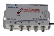 Усилитель ТВ сигнала 220 В, 4 полосный CA ТВ кабель, усилитель антенны, набор сплиттеров, широкополосное домашнее ТВ оборудование 20 дБ 45 МГц ~ 880 МГц