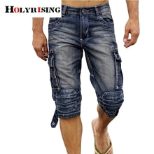 Hot sale Brand Short Jeans Men Denim Blue Boys Short Cotton knees shorts Fashion Summer Mens Shorts fashion jean shorts 29-40