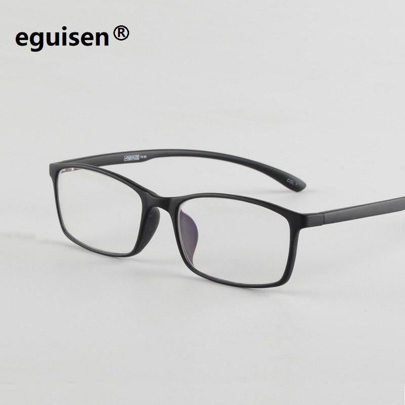 Width-140 TR90 Full Rim Unisex degree Optical Myopia Glasses Eyewear men Oculos Soft Computer Goggle Women Square Brand Eyewear