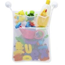 Haushalt Korb Bad Organizer Kind Bad Spielzeug Netto Hängen Taschen Folding Mesh Net Lagerung Tasche Home Storage Halter Saugnapf