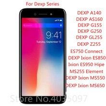 Protecteur décran Pour DEXP Ixion A140 AS160 GL255 MS550 MS650 750 ES950 ES850 ES1050 G155 G250 Trempé Verre Film Protecteur