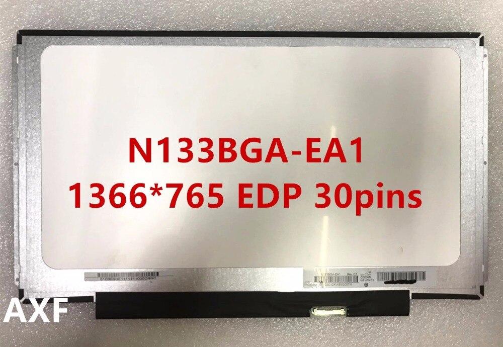 Frete grátis Original Display LCD EDP N133BGA-EA1 30 PINOS 1366*768 WXGA LED Screen display