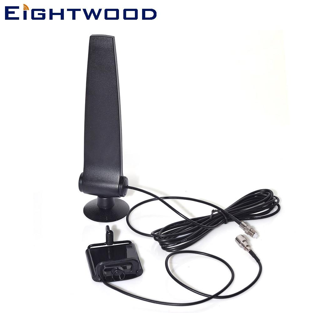 Support pour téléphone portable amplificateur de Signal GSM CDMA 3G 4G LTE avec antenne aérienne 4g connecteur 120 cm RG174 FME