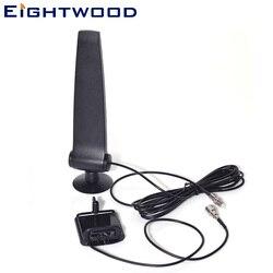 Eightwood GSM CDMA 3G 4G LTE Handy Signal Booster Verstärker Telefon Halter mit Antenne 4g Antenne 120 cm RG174 FME Stecker