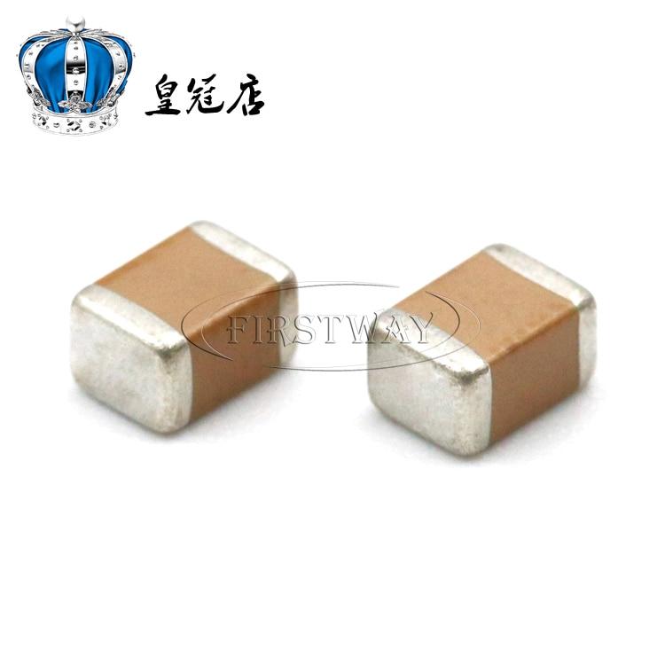 10 teile/los SMD keramik kondensator 1812 10 uf 100 V 106 mt 20% X5R nicht-polar kondensator 10 uf keramik