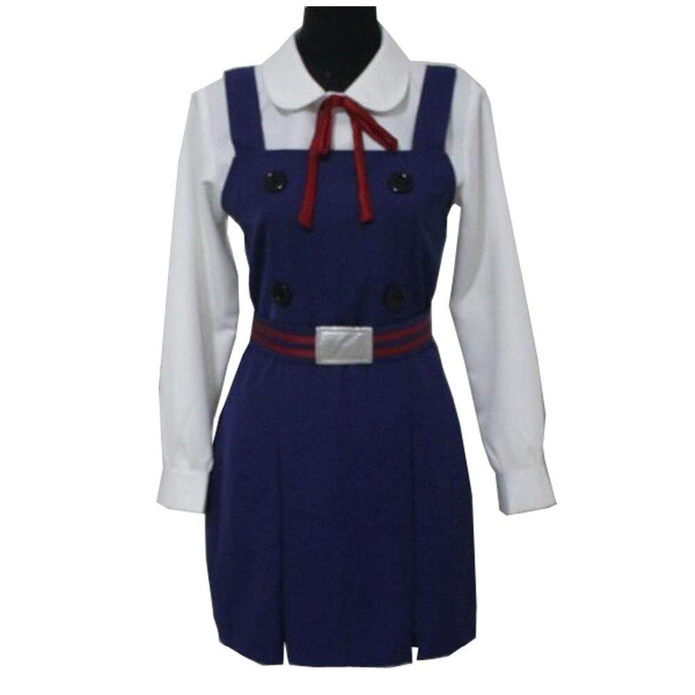 2017 Tamako mercado Tamako Kitashirakawa uniforme COS ropa Cosplay disfraz