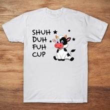 Shuh Duh Fuh Tasse Daisy Kuh 2019 Sommer herren Kurzarm T-Shirt