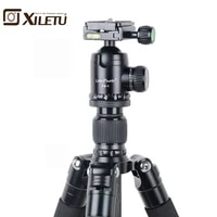 xiletu l 284cfb 1 pro stable carbon fiber tripod and ball head removable mnonpod for dslr digital camera canon nikon sony