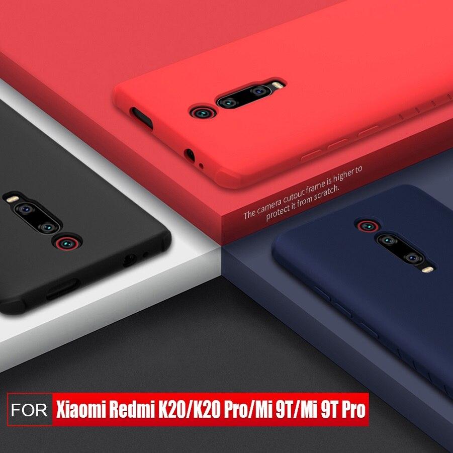 Чехол Red mi K30 NILLKIN для xiaomi Poco X2, силиконовый Гладкий защитный чехол-накладка для xiaomi mi 9t mi 9t pro
