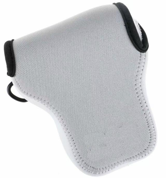 Funda de neopreno suave impermeable para cámara interna para Sony A6000 A6400 A6300 lente de cámara