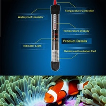 Adjustable Temperature Thermostat Heater Rod 25w / 50w / 100w Submersible Aquarium Fish Tank Water H