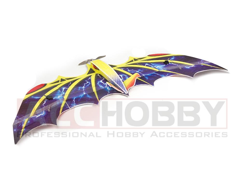 New Biomimetic RC Foam Airplane EPP Airplane Model Bat RC Wingspan 1030mm Bat EPP Slow Flyer RC Plane enlarge
