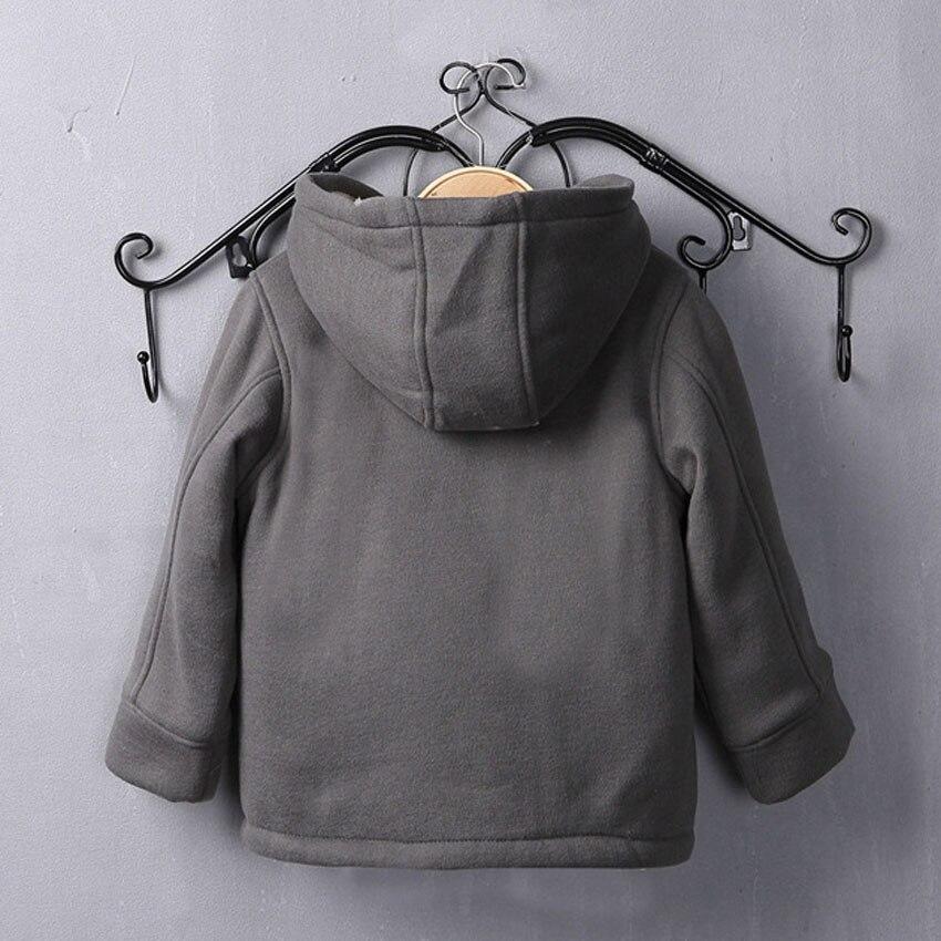 Benemaker/детская зимняя куртка для девочек и мальчиков; Флисовая ветровка; Детская одежда; Плотное шерстяное пальто; Детская одежда; Верхняя одежда; JH090-4