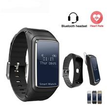 NEUE B7 smart band bluetooth headset kopfhörer smart armband herz rate monitor Fitness Tracker armband smartband