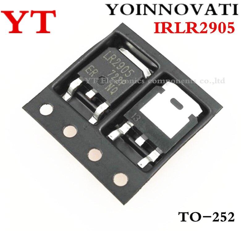 100 pçs/lote IRLR2905 LR2905 PARA-252 IC Melhor qualidade