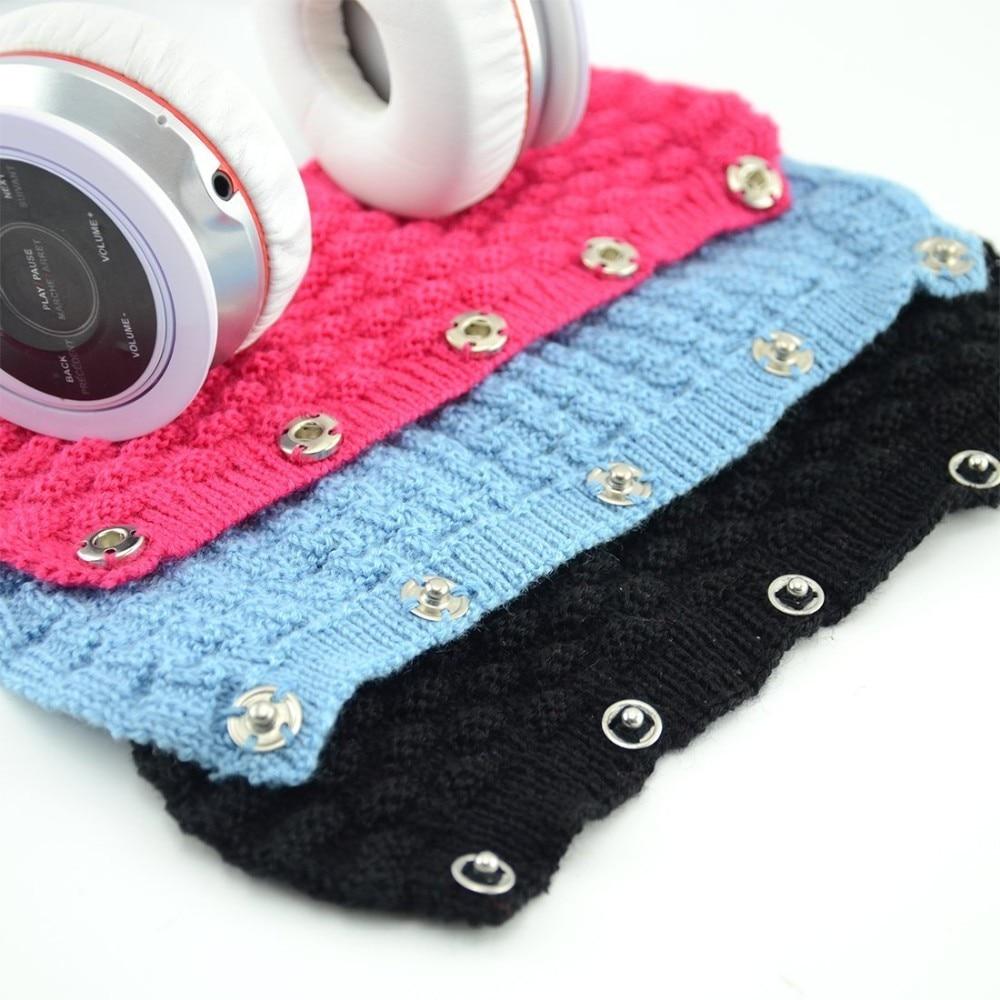 20 piece/lot Replacement Pure Wool Headband Cushion for Sony, Baia, Denon, Goethe,  etc Series Headphones