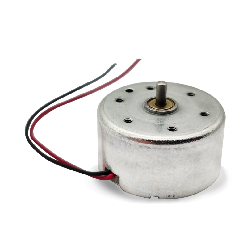 10 Uds Micro Motor de energía Solar 300 DC3V 4,5 V 5V imán permanente miniatura DC Motor para Hobby científico Juguetes DIY