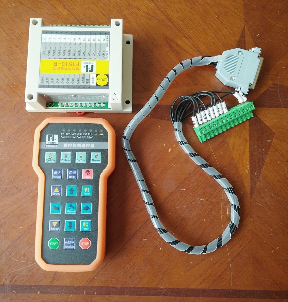 fangling remote Controller Wireless Remote Control pad keyboard keypad pendant cnc plasma Cutting Machine F1510 for f2100 2300