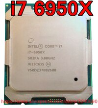 Original Intel CPU CORE Extreme Edition i7 6950X Processor i7-6950X 3.00GHz 25M 10-Cores Socket 2011-3 free shipping