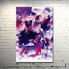 DIABOLIK LOVERS Art Soie Affiche Dimpression 13x20 24x36 pouces Komori Yui Janpan Anime Photos for Living Room Decor 019