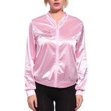 Roze Vrouwen Basic Jassen Solid Trainingspak voor Vrouwen Jas Lady Retro Jas Vrouwen Fancy Dress Vet Kostuum