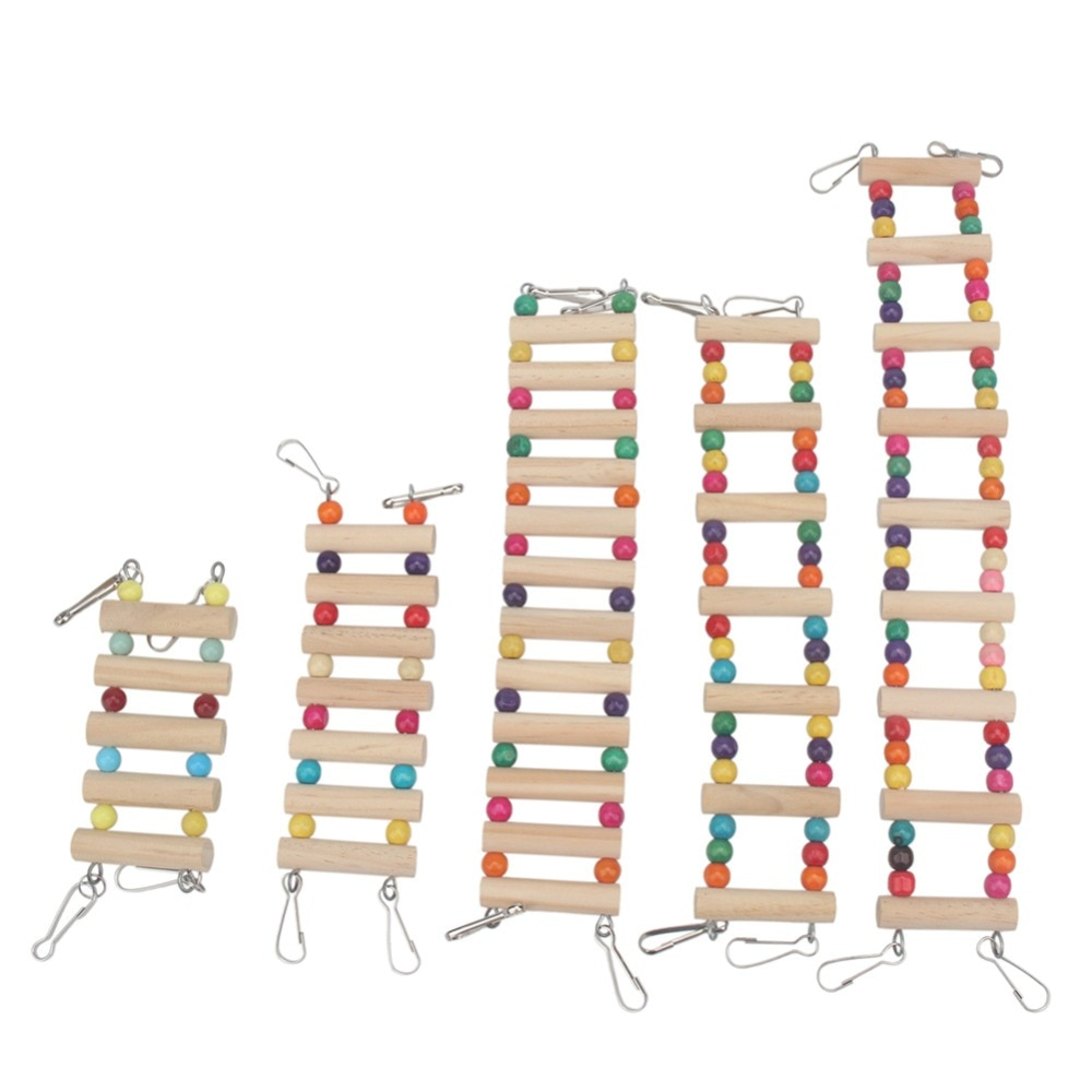 Juguetes Para loros de trumdeutung, columpio y escalera para pájaros, accesorios para mascotas, jaula, decoración, cacatúa, percha, juguete, periquito, pajaro
