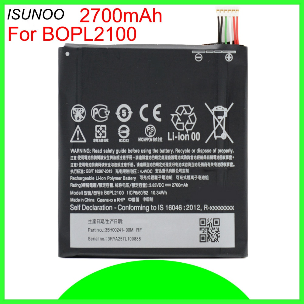 B0PL2100 BOPL2100 smart Phone battery For HTC butterfly3 B830X replacement Mobile battery with tools