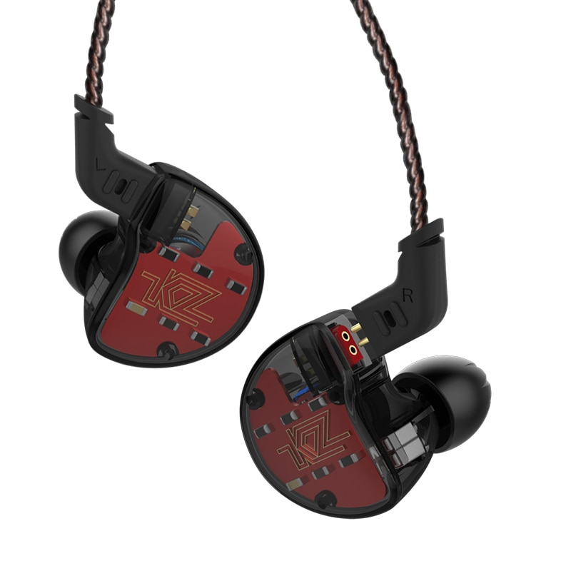 KZ ZS10 1DD+4BA Drive Unit Hybrid In Ear Earphone IEM Detachable Detach 2Pin Cable DJ HIFI Monitor Sport  Smartphone Earphone