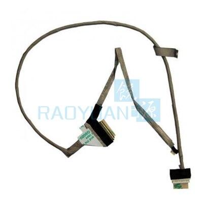 Cabo lcd para toshiba satélite c660 c660d c665 c665d p750 p750d p755 p755d dc020011z10 portátil lvds flex fio de tela