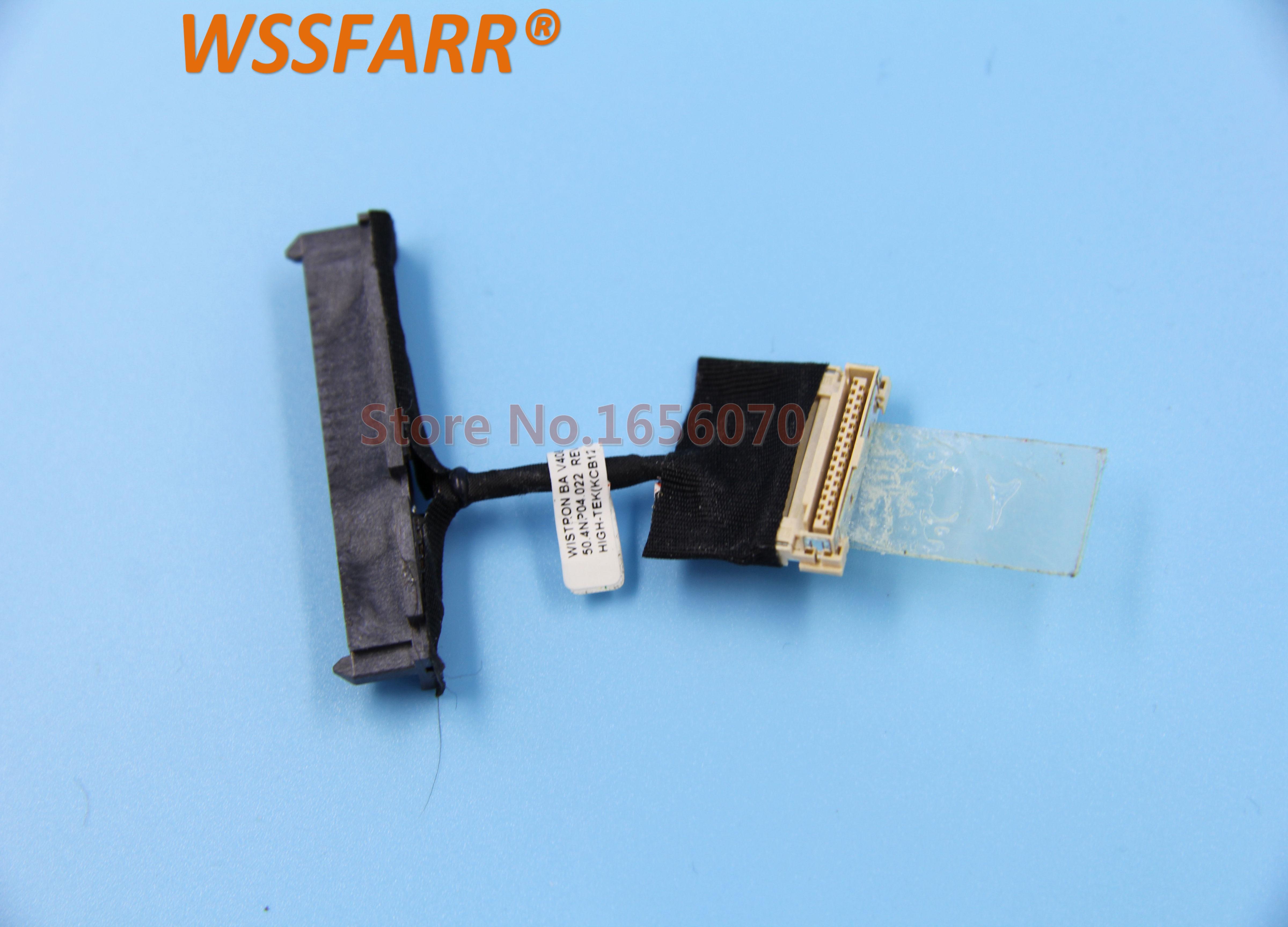 Ordenador portátil HDD Cable para ACER 8573 de 8573 de la serie T de 8573TG 6595T 50.4NP04.022 SATA HDD Disco Duro cable conector a prueba bien.