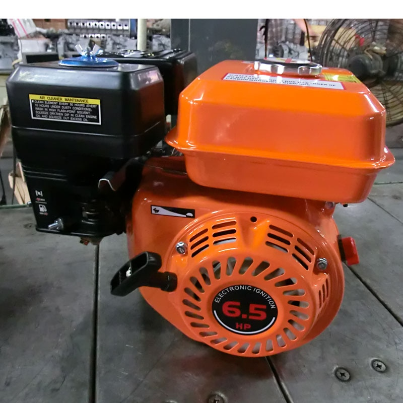 Motor de gasolina Kiger 6.5hp 220V 50Hz usado para generador, bomba de agua, motocultor, motor de operación manual.