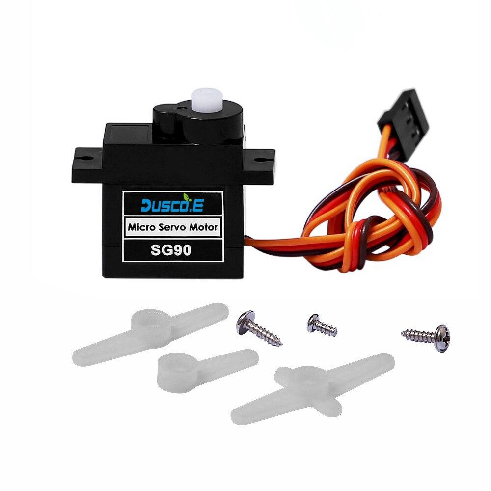 1 Uds micro motor servo de alta calidad 1,8 kg 9g Servos SG90 para arduino nano uno RC 250 450 6CH para helicóptero, avión, coche, barco